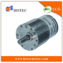 Long life reversible 6mm shaft high torque small gear motor dc 12v 60rpm speed control