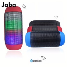 Bluetooth Speaker LED Light Effect Dazzle Color Music 3.0 wireless Outdoor Speakers Portable Hand-free Pulse speaker TF Card USB