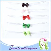 Baby infant headband,hair baby ribbon bow,baby hair elastic headband infant