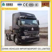 direct selling new Sinotruk howo a7 3 axle 420 hp Head chinese tractor prices