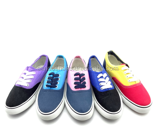 high quality canvas campus shoes for girls