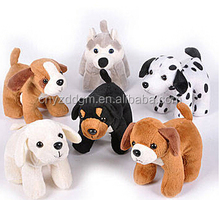 Puppy Party Stuffed Dogs/plush dog toys/plush husky,Chihuahua,spot dog toys