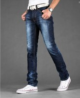 Rock feeling fashion damaged ripped men jeans hot sale model strong recommend