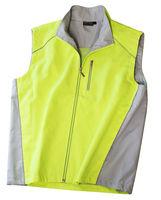 outdoor working vest, sleeveless work vest, LED jacket
