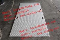 Mobile plastic road plates/Mobile pavements of composite plates, pe material plastic road plate/ heavy-duty hdpe plastic tear dr