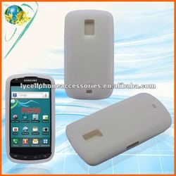 For Samsung R930 Galaxy S Aviator Clear White Cell Phone Silicone Case