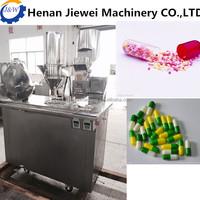 capsule filling machine manual from Jiewei factory