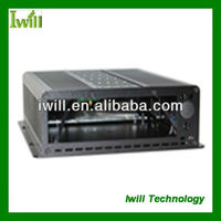 Iwill S120 embedded car pc case OEM/ODM