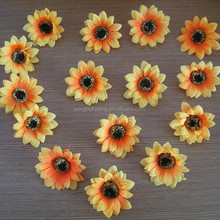 cheap price wholesale artificial sun flower head for home garden decoration