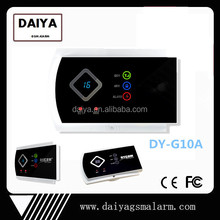 2015 factory direct sale! Gsm home system with fashion alarm model and 99 wireless zones DY-G10A