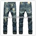 2014 mejor venta de dril de algodón pantalones vaqueros pantalones vaqueros de los hombres
