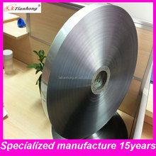 Al9 + pet15 industrielle papier d'aluminium épais pour câble wrap bouclier