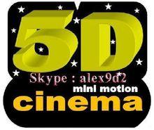 Hot sale electric motion platform 5D Cinema/Theater/Movie