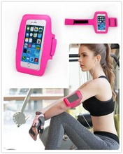 2015 for iphone 6 waterproof sport armband with dual lycra reflect light armbands