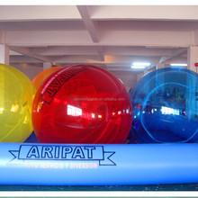 Pas cher 0.9 mm PVC grande taille géant gonflables piscines, Gonflable boule de l'eau