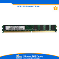 free shiping products ETT chips defect less 1% ddr2 2gb 800mhz memoria ram