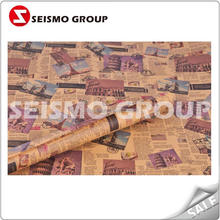 printed book cover packing paper gold tissue paper light weight coated paper