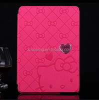 Flip leather case cover for Samsung Galaxy Note 10.1 P600 Kitty design