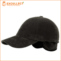 Hot Sale Custom Cheap Cotton Baseball Cap With Ear Flaps With 10 Years Experience