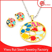Dubai Gold Jewelry fashion/18 K Gold Plated jewelry gold for women