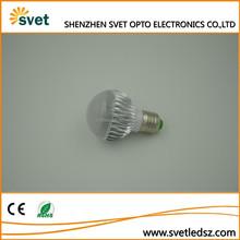 Unique design low power consumption changeable led bulb