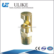 Brass Material K series wide deflection flat fan spray nozzle