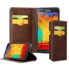 BRG New Luxury Genuine Leather Wallet Flip Cover with Card Holder for Samsung Galaxy Note5 case