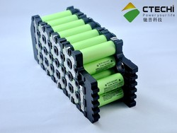 5.8Ah 55.5V NCR18650PF electric motorcycle battery pack