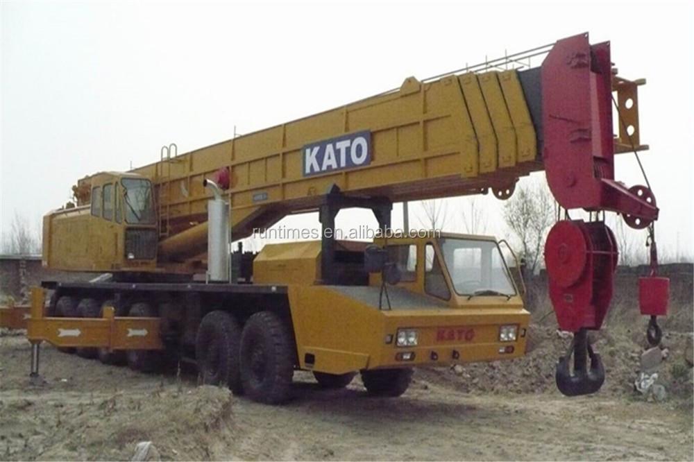 تستخدم كاتو شاحنة/ 120 nk1200e طن رافعة شوكية، تستخدم رافعة طن 120، استخدمت شاحنة رافعة كاتو طن 120