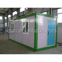 2015 ISO china factory wholesale cheap living container house villa
