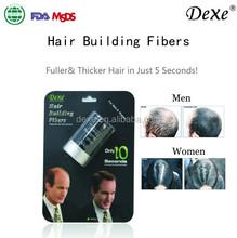 hair fiber powder Hot top sale Dexe 2015 OEM ODM