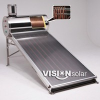 Hot sale high quality solar collector flat plate solar water heater for domestic