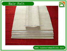 felt wholesale 100% wool for tannery machine in china