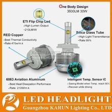 KARUN 2015 Automotive DC12V LED Car Light Bulbs H7 Replacement Car Conversion LED Headlight Kits