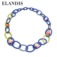E-ELANDIS Multicolor for choice !! Cheap sale resin acrylic ring for christmas gift ,total size: 100cm