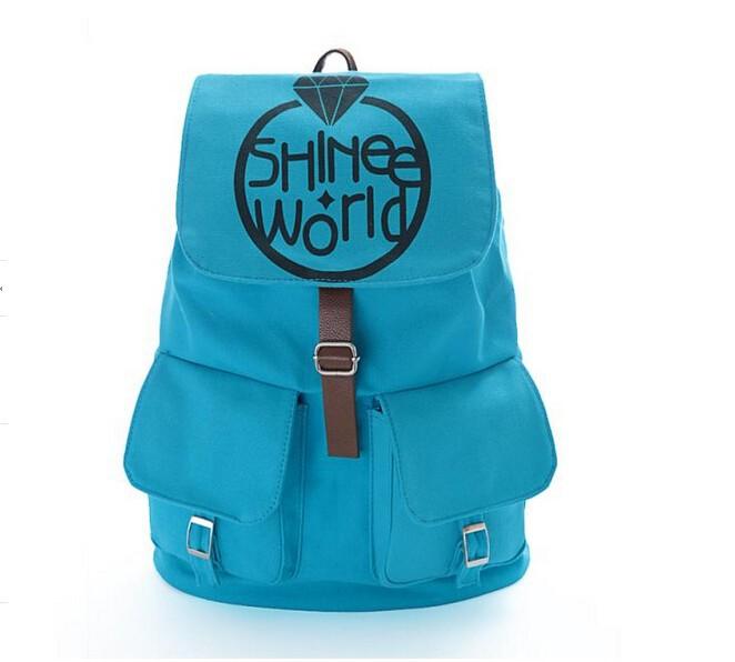 k поп shinee Новая волна сумка рюкзак для школа m26