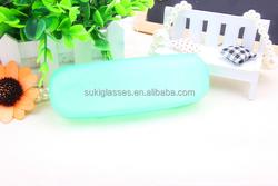 Plastic Transparent Sunglasses Case Glasses Case