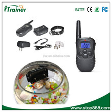 Dog Training Collar with Remote Effective yet Humane Modes (Vibrate / Shock / Sonic Tone) 998DB-L