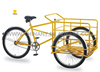 UB 9033 three wheels cargo tricycle/pedal trike /street tricycle/heavy duty tricycle