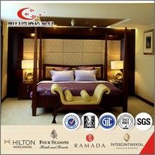 Wicker modern elegant romantic king size bedroom set