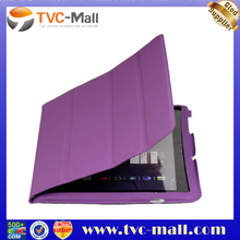 Leather Smart Cover for Samsung Galaxy Tab 10.1 P7510 P7500 - Purple