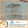 5'X10' metal tubing welded wire mesh dog kennel with roof shelter and 1dog runs