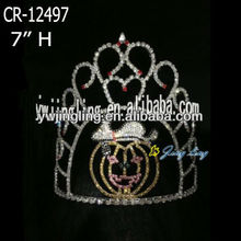 new rhinestone pumpkin cake Halloween crown