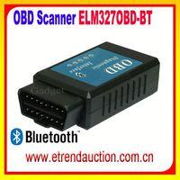 Professional ELM327 Interface Bluetooth OBD2/OBD II Auto Car Diagnostic Scanner