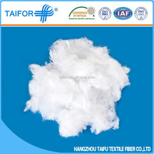 New abrasion-resistant fibre fill for cushions polyester fiber