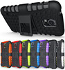 Heavy Duty Armor Shock Proof Armour Hard Case Cover Stand For Samsung S5 i9600