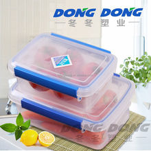 Newest competitive price trade assurance On time shipment colorful PE container plastic