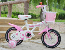steel girl kid bike