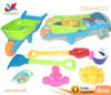 Verious Design Children Play Toys Beach Games Plastic Beach Hand Cart Toys