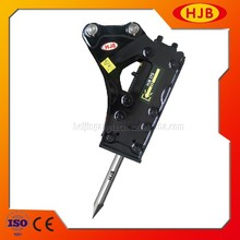 Hjb175 laterale di tipo martello idraulico escavatore/idraulico rock interruttore prezzi/bel martello idraulico